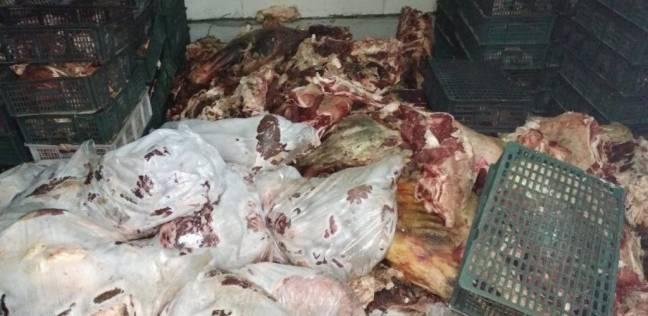 بالصور| ضبط 40 طن لحوم فاسدة بمصنع في مدينة السادات بالمنوفية