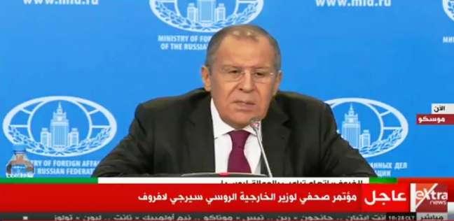 لافروف: شمال سوريا يجب أن يكون تحت سيطرة الحكومة السورية