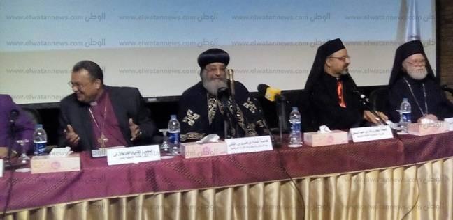 """""""كنائس مصر"""": نثمن قرارات الرئيس ونقدر تضحيات الشرطة والجيش"""