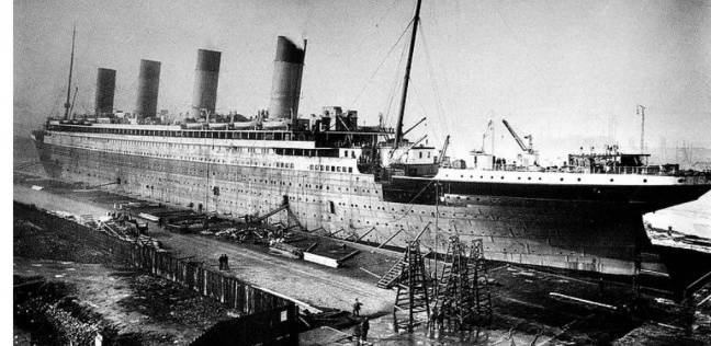فترة صناعة سفينة التيتانيك