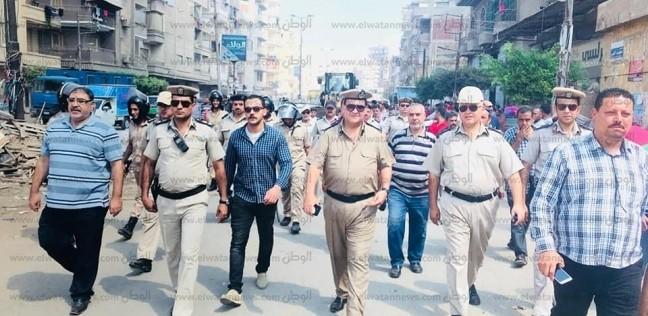 تحرير 456 مخالفة مرافق وإشغالات خلال حملة أمنية مكبرة بشوارع الغربية