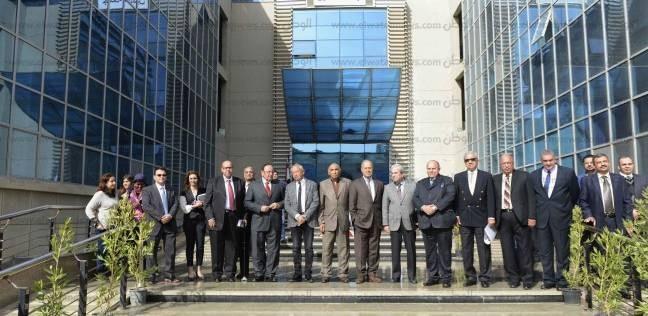 مؤتمر جامعة النيل الأهلية للإعلان عن تسلم المبنى الأكاديمى من مدينة زويل