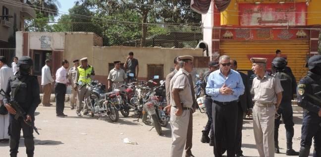 ضبط سلاح ناري وذخائر بدون ترخيص في حملة أمنية بالفيوم