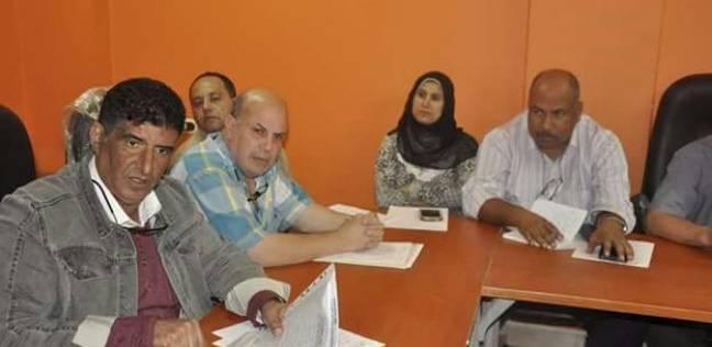 رئيس شركة مياه الشرب والصرف بدمياط يعقد اجتماعا بأعضاء وحدة Iwsp
