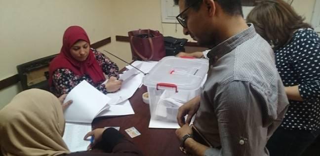 إقبال متوسط على الانتخابات النقابية في كفر الشيخ