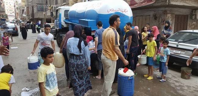 استمرار أزمة انقطاع مياه الشرب لليوم الثاني بشبرا الخيمة