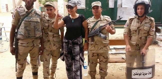بالفيديو  نادية الجندي: أنا نازلة انتخب..وأجلت عيد ميلادي لبعد التصويت
