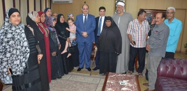 """توفير مساكن إيواء لـ14 أسرة بـ""""تل الحدادين"""" في طنطا"""