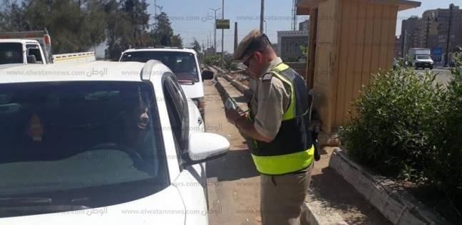 ضبط 21 مخالفة مرورية في حملات بشوارع مدينة القصيربالبحر الأحمر