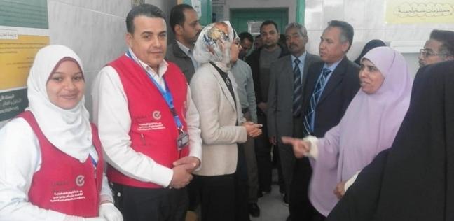 """""""الست المصرية صحة مصر"""".. الأقصر تستعد لاستكمال """"100 مليون صحة"""""""