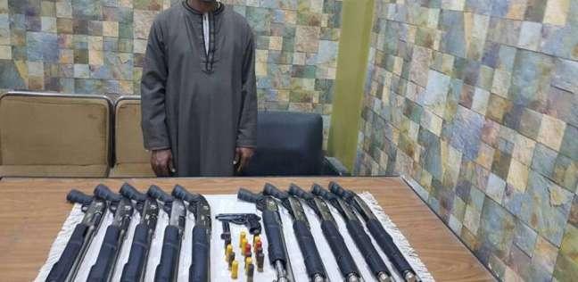 القبض على مزارع بتهمة الإتجار في السلاح