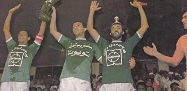 محمود الخطيب مع مجدي عبدالغني ومصطفى يونس