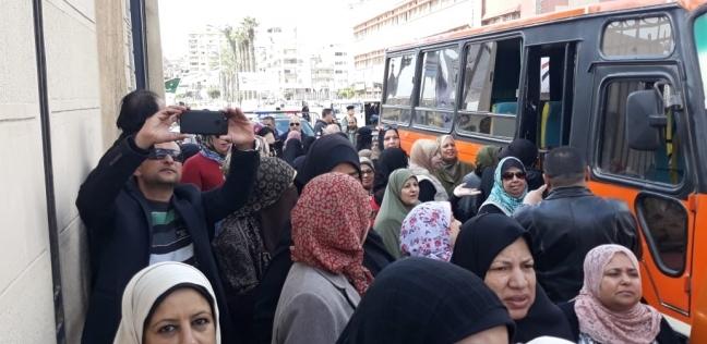 انتظام العمل بـ111 لجنة انتخابية ثاني أيام الاستفتاء في بورسعيد