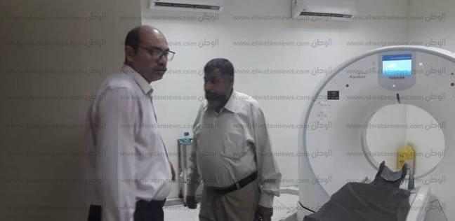 """مدير الرعاية العاجلة بـ""""صحة الشرقية"""" يتفقد مستشفى الزقازيق العام"""
