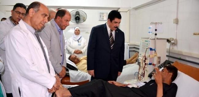محافظ القليوبية يتفقد إنشاءات مستشفى القناطر الخيرية المركزي الجديد
