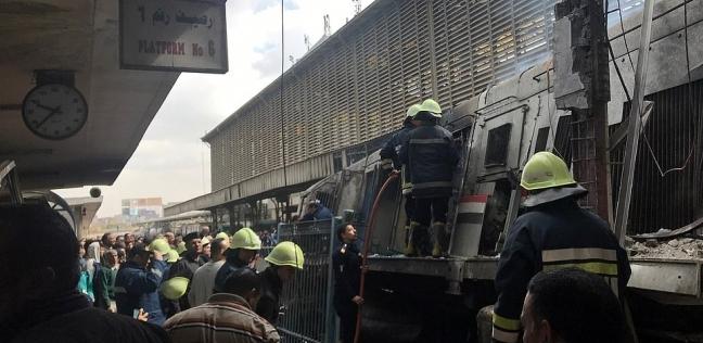 ارتفاع عدد ضحايا حريق محطة مصر لـ22 حالة