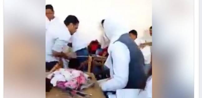 لقطة من داخل الفيديو