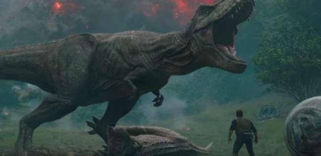 """""""Jurassic World"""" في المركز الثالث في قائمة الأعلى إيرادات بـ 2018"""