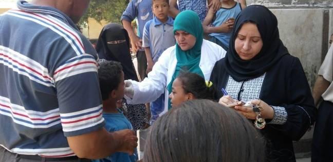 """""""صحة المنوفية"""": تحليل وتجريع المواطنين ضد البلهارسيا في حملة بـ7 قرى"""