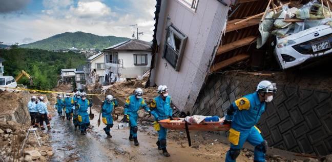 أخطر كارثة منذ 36 عاما.. أمطار غزيرة تقتل 156 شخصا في اليابان