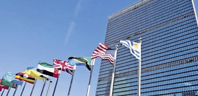 عشرات سيارات الإطفاء أمام مبنى الأمم المتحدة في نيويورك