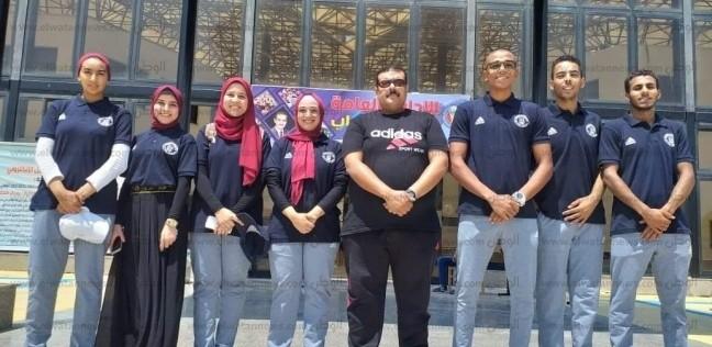 """طلاب """"القناة""""يشاركون في ملتقى طلاب الجامعات المصرية"""