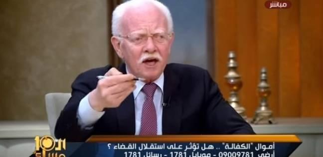 عبد الرازق عن الحصول على نصف الكفالة لعلاج القضاة: إحنا متبهدلين