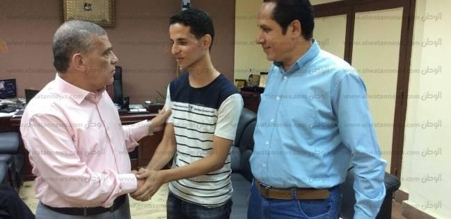 وكيل وزارة الشباب بالغربية يستقبل رئيس برلمان شباب مصر