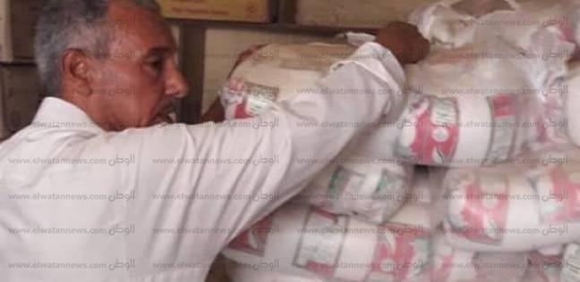 """""""تموين أسيوط"""": ضبط 102 مخالفة وسكر مدعم قبل بيعه في السوق السوداء"""