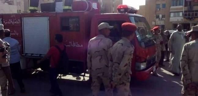 السويس تشيع جثمان شهيدها في حادث وسط سيناء الإرهابي