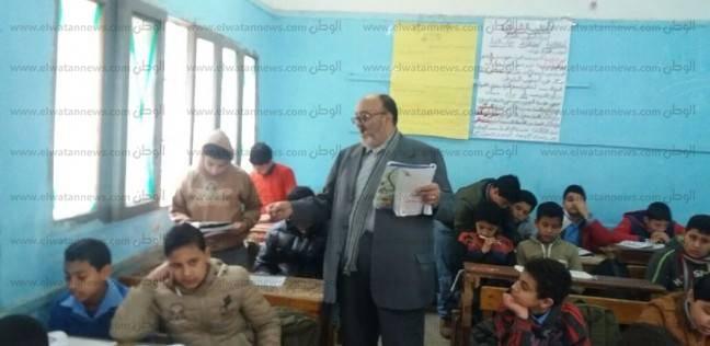 بالصور| وكيل التعليم الغربية يتفقد العملية التعليمية بعدد من المدارس