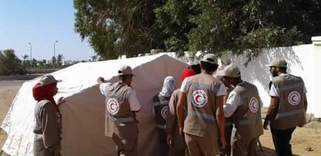 الهلال الأحمر ينظم دورة تدريبية للاستعداد للكوارث والنكبات بالغردقة