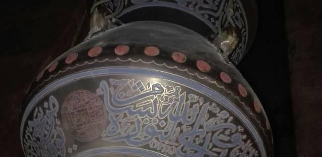 سرقة 6 مشكاوات من غرفة الملك فاروق بمسجد الرفاعي