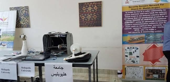 """عميد """"هندسة هليوبليس"""" تكرم الفائزين بالمركز الثاني في """"الميكاترونكس"""""""