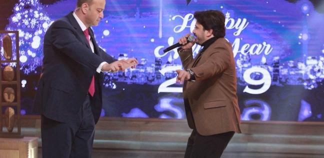 """أحمد عدوية ومصطفى حجاج ضيوف """"Mbc مصر"""" في احتفالات رأس السنة"""