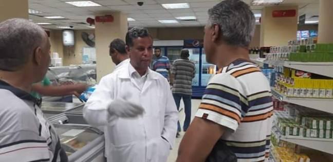 ضبط 5 أطنان صدور دجاج ولحوم غير صالحة خلال حملة بسفاجا