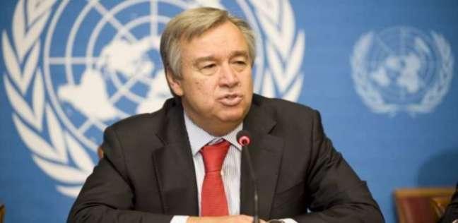 العرب و العالم   جوتيريش يعرب عن قلق الأمم المتحدة من التطورات في منطقة الخليج