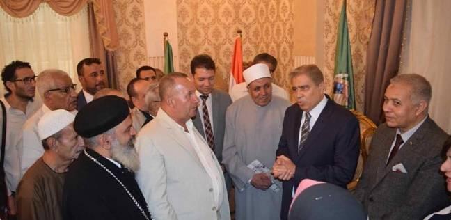 محافظ المنيا: سنقف على مسافة واحدة من الجميع