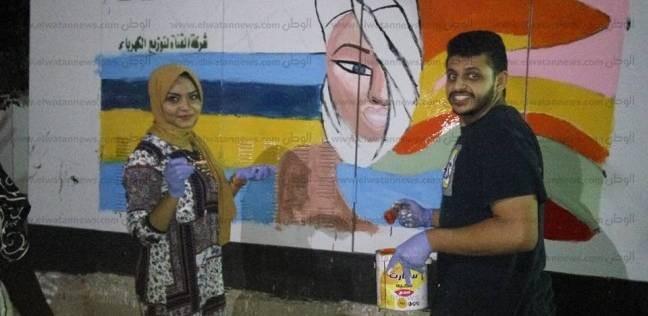 """استمرار فعاليات مبادرة """"اخترلك شارع"""" بشارع المنشية القديمة بطور سيناء"""