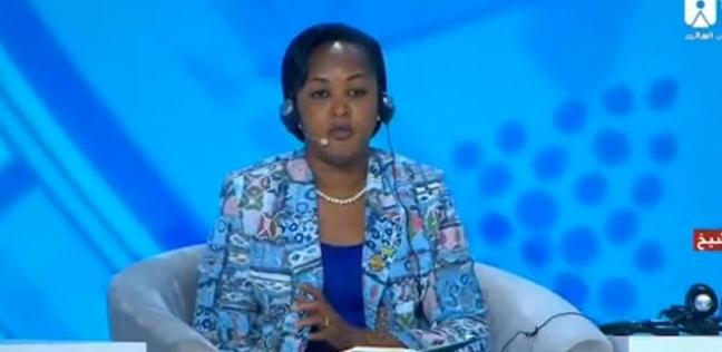 c2f98a7e73b8b وزيرة شباب رواندا  المرأة ممثلة في البرلمان بـ61% وفي الحكومة بـ50%