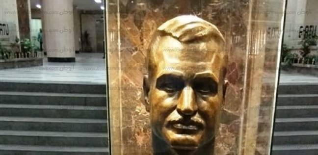 للمرة الثالثة.. تمثال عبد الناصر يعود لبهو ماسبيرو بشكل جديد