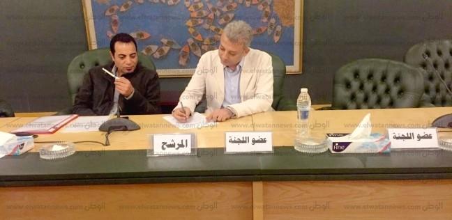 بالصور| محمد ربيع يترشح على عضوية مجلس الصحفيين