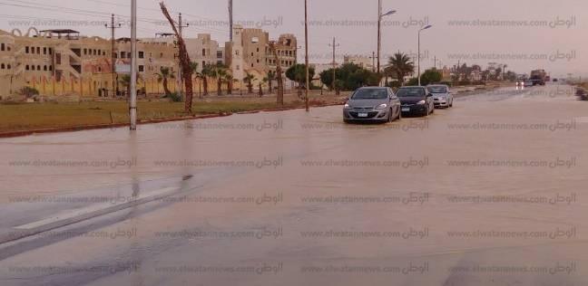 بالصور  سدود جنوب سيناء تنقذ المحافظة من خطر السيول