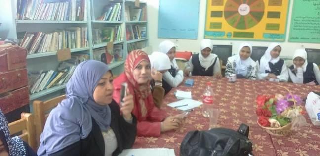 """""""الصحة والسلامة في المنشآت التعليمية"""" ندوة بمركز إعلام الخارجة في الوادي الجديد"""