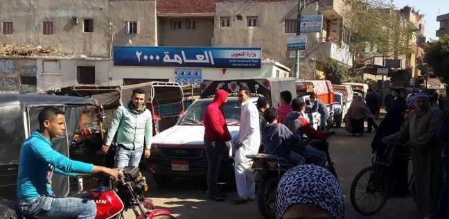 """حل أزمة سائقي شبين القناطر المعترضين على نقل """"الموقف"""" مؤقتا"""