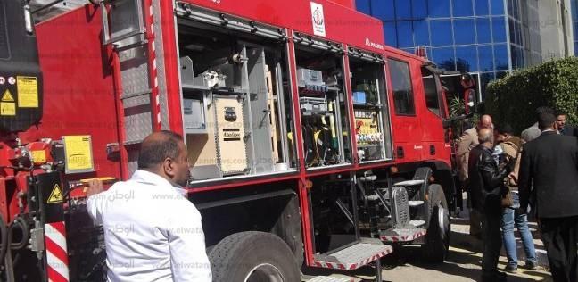 السيطرة على حريق في مصنع أدوات مدرسية بالغورية