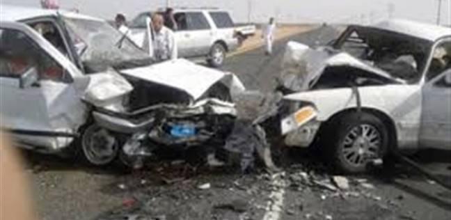 """إصابة 6 أشخاص في حادث انقلاب سيارة بطريق """"العلمين – القاهرة"""""""
