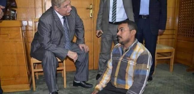 شقة سكنية لمواطن ذهب للجنة الانتخابية زاحفا في الإسماعيلية