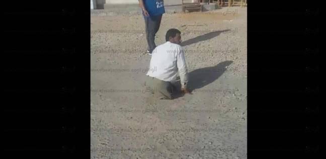 """رغم بتر ساقيه.. عادل أصر على التصويت بالإسماعيلية: """"والله أمر طبيعي"""""""