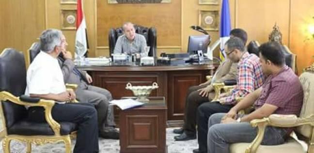 محافظ دمياط يؤكد سرعة تنفيذ قرار الإزالة بطريق الترعة الشرقاوية
